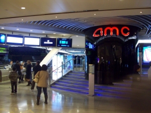 The AMC Theater in Kowloon Tong shopping center where we saw the movie. Just like home.