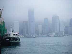 This is the fog I was talking about that can easily envelope the whole island at times.