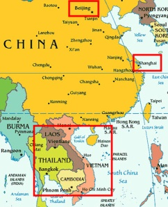 Our spring break dilemma: mainland China or Southeast Asia.
