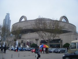 The rather drab exterior of the Shanghai Museum housed a treasure trove of interesting things inside.
