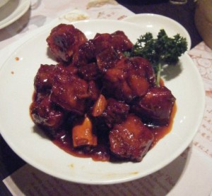 Some of the best spareribs I had ever had at Crystal Garden.