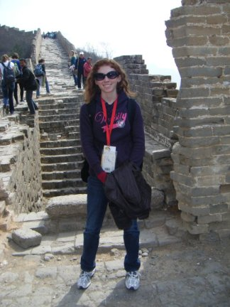 Proud moment atop the Great Wall. If you'd told me a year prior I'd be there at 21, I'd have laughed out loud.