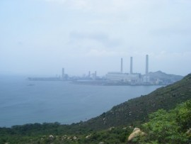 The picturesque power plant on Lamma Island. How fetching.
