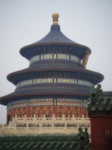 The famous Temple of Heaven. Very pretty, no?
