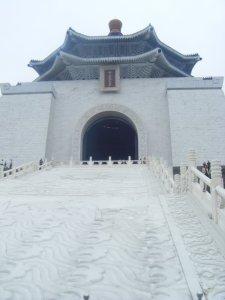 Very impressive Chiang Kai Shek temple.