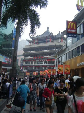 One final look at the utter chaos and energy of Shenzhen, China. Fare thee well.