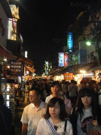 The crowded carnival of Shilin. Totally nuts and so great!
