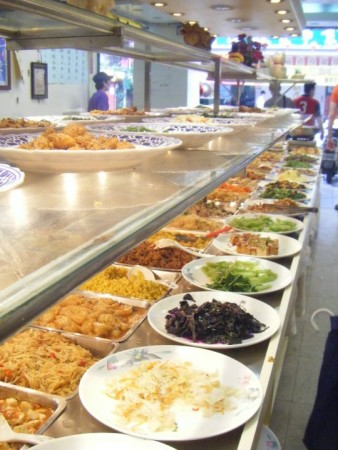 So many choices. So few animals harmed in the making of this buffet.