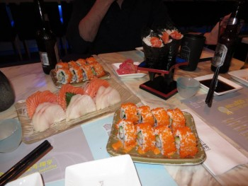 Some of the best sushi I've ever had in Hong Kong at Sushi One in Causeway Bay.