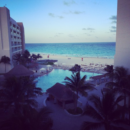 The view of the Westin pool and ocean from our room. How perfect is that?