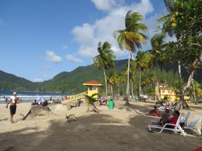 Maracas Beach - just as pretty as I remembered.