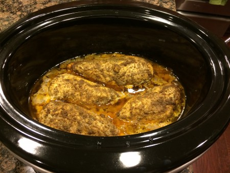 Moroccan Chicken Crockpot