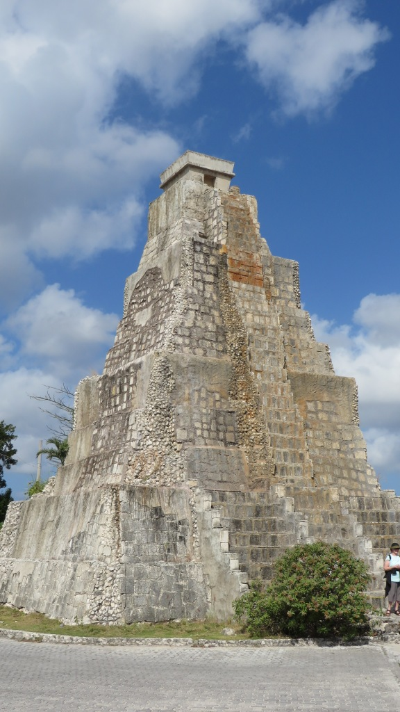 Mayan Temple near Cozumel